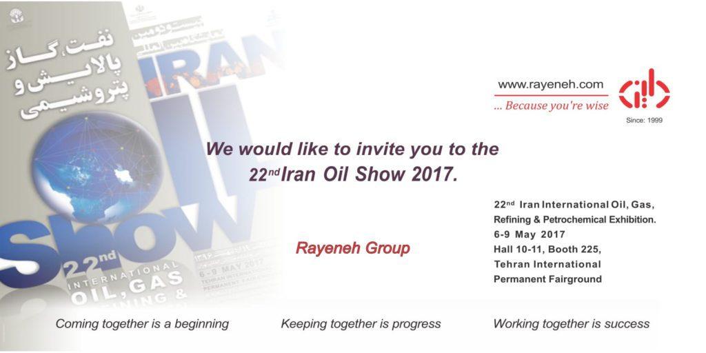 Rayenehdaran's Booth in 22nd Iran Oil Show - May 2017