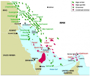 History of oil exploration in Iran